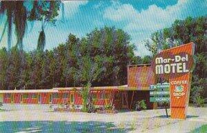 Florida Deland Mar Del Motel In Orange Grove 1909