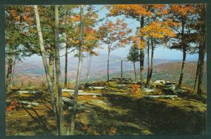 BRISTOL NEW HAMPSHIRE Inspiration Point - Little Round Top Memorial NH Postcard