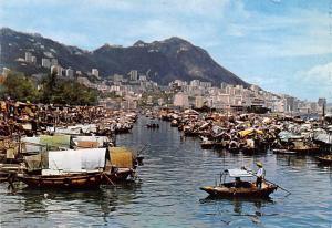 Hong Kong Boat People, Causeway Bay Typhoon Shelter  Causeway Bay Typhoon She...