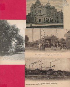 Lot of 4 Pennsylvania PA Postcards - HL-01