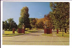 MacLaren Memorial Gates, University of New Brunswick, Frederiction, Used by s...