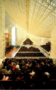 California Garden Grove The Crystal Cathedral Interior