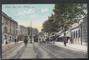 Bristol Postcard - Black Boy Hill, Clifton  RS19483