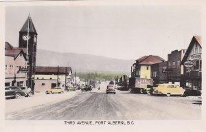 RP: PORT ALBERNI , B.C. , Canada , 1930-40s ;  Third Avenue