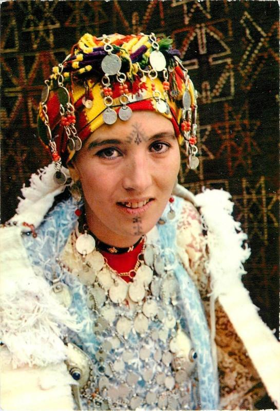 Morocco type of woman of the Middle Atlas