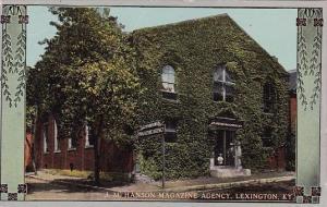 Kentucky Lexington J M Hanson Magazine Agency 1913
