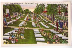 Moravian Graveyard, Winston-Salem NC