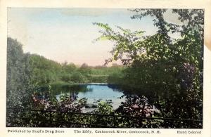 NH - Contoocook. The Eddy, Contoocook River