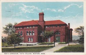 Massachusetts Bedford Men's Gymnasium Tufts College 1931 Curteich