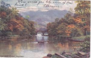 Raphael Tuck & Sons´, #7260; KILLARNEY, Ireland, PU-1906; Old Weir Bridge