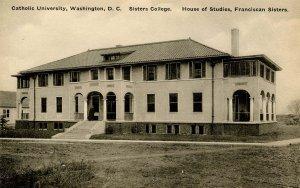 DC - Washington. Catholic Univ. of America. Sisters College, House of Studies...