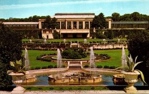 Pennsylvania Kennett Square Longwood Gardens Main Conservatory and Fountain G...