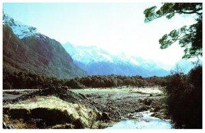 NEW ZEALAND Postcard - Eglington Valley (C13) Continental Size
