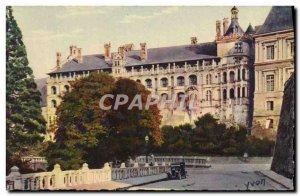 Old Postcard La Douce France Chateaux De La Loire Chateau De Blois Facade Fra...