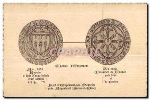 Old Postcard Pontoise Fief Orgemont Les Pres Argenteuil (Seine et Oise)