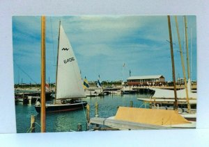 Dewey Beach Delaware Sailboat Postcard