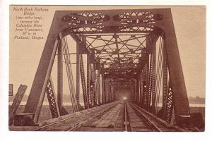 North Bank Railway Bridge, Vancouver to Portland Oregon,