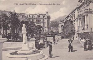 Monaco Monte Carlo Monument de Berlioz