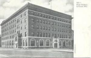 Hotel Stoddard, La Crosse, Wisconsin, Pre-1907