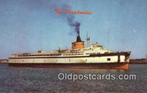 The Pocahontas, Norfolk, Virginia, VA USA Ferry Ship Postcard Post Card  The ...