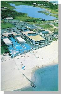 Blue Water Resort Hotel Postcard,Bass River,Mass/MA,Cape Cod