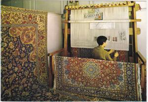Carpet Weavers , TEHERAN , Iran , 50-70s