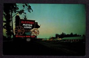 VA Old Stage Motel Lodge COLONIAL HEIGHTS VIRGINIA PC