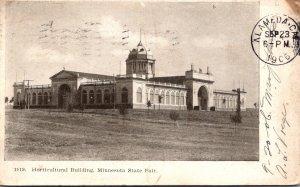 Minnesota Minneapolis Horticultural Building Minnesota State Fair 1906