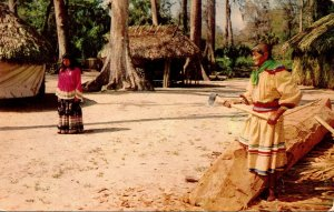 Florida Silver Springs Seminole Indian Village