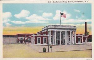 Exterior, Southern Railway Station, Greensboro, North Carolina,  00-10s