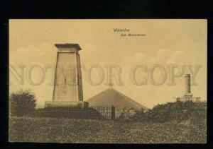 213704 BELGIUM WATERLOO Les Monuments NAPOLEON WAR Vintage