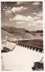 RP: View of Grand Coulee Dam, Washington 1930-50s