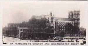 Carreras Vintage Cigarette Card Views Of London No 24 St Margarets Church & W...