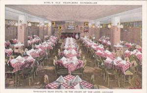 Illinois Chicago Eitel's Old Heidelberg Rathskeller German Restaurant