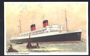 Cunard Lines RMS Mauretania Postcard