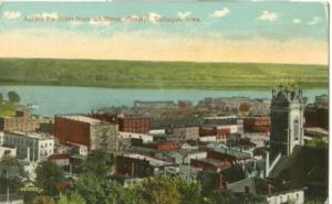 Across the River from 4th Street Elevator, Dubuque, Iowa ...