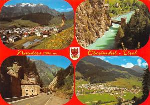 Nauders Oberinntal Tirol Gesamtansicht Bruecke Bridge River Castle