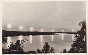 RP, Midnattssol, Vid Abisko, Norr Om Polcirkeln, Sweden, PU-1951