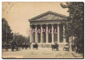 Postcard Old La Madeleine