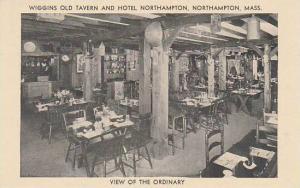 Massachusetts Northampton Wiggins Old Tavern And Hotel Northampton  View Of t...