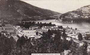RP, NELSON , B.C. Canada, 1908 ; From Hospital Bluff
