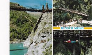 QUEENSTOWN, New Zealand, 50-70s; Bungy Jumping , Kawarau Bridge