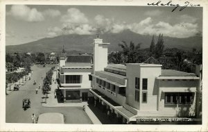 indonesia, JAVA MALANG, Bookstore Sluyter - Van Dorp (1920s) RPPC Postcard