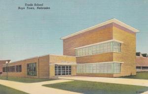 Nebraska Boys Town Trade School 1950 Curteich