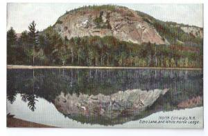 North Conway NH Echo Lake White Horse Ledge Leighton c 1910