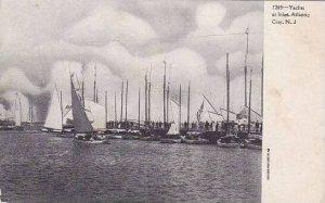 New Jersey Atlantic City Yachts At Inlet