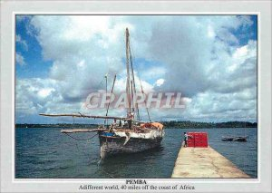 Postcard Modern Weisha Jetty Pemba For centuries a trading harbor and haven f...