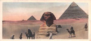 Pyramids and Sphinx Egypt, Egypte, Africa Postal Used Unknown