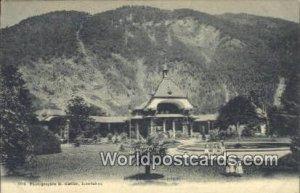 Kursaal Interlaken Swizerland Unused