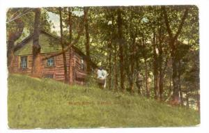 North Shore, Hamlin Lake, Michigan,  PU-1912